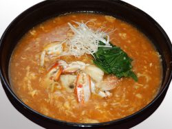 わたり蟹の特製味噌ラーメン 980円(税別)